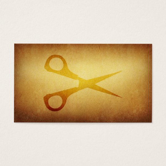 Papered Archive Barbers Haircut Business Card