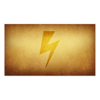 Papered Archive Lightning Fast Business Card