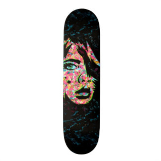 """PaperMonster """"He's Here"""" Deck Skate Deck"""