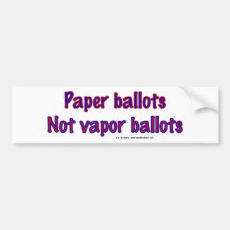 PaperNotVapor Bumper Sticker