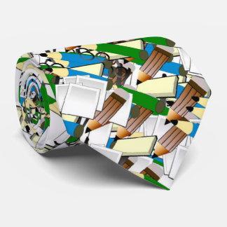 paperstuff, neck tie