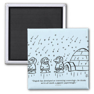 Paperweight 2 Inch Square Magnet