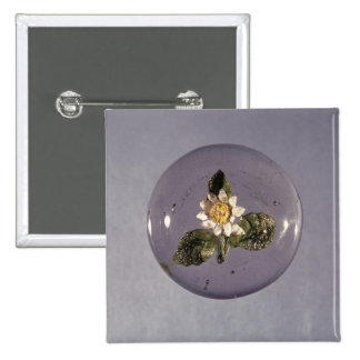 Paperweight, Pantin Workshop, c.1850 2 Inch Square Button