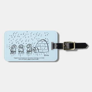 Paperweight Travel Bag Tags