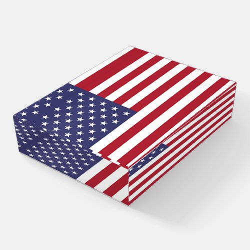 Paperweight with flag of USA