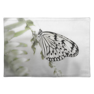 Paperwhite Butterfly Placemat