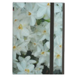 Paperwhite Narcissus Delicate White Flowers Case For iPad Air