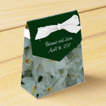 Paperwhite Narcissus Delicate White Flowers Favor Box
