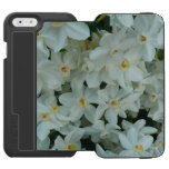 Paperwhite Narcissus Delicate White Flowers iPhone 6/6s Wallet Case
