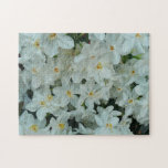 Paperwhite Narcissus Delicate White Flowers Jigsaw Puzzle