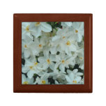 Paperwhite Narcissus Delicate White Flowers Keepsake Box