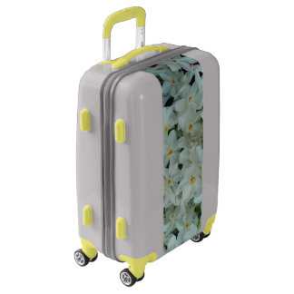 Paperwhite Narcissus Delicate White Flowers Luggage
