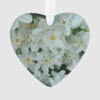 Paperwhite Narcissus Delicate White Flowers Ornament