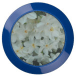 Paperwhite Narcissus Delicate White Flowers USB Charging Station