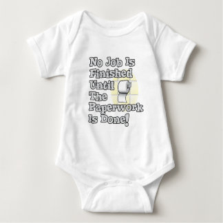 Paperwork Baby Bodysuit