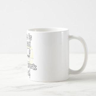 Paperwork Classic White Coffee Mug
