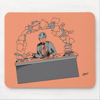 PAPERWORK LIFE CYCLE mouse pad
