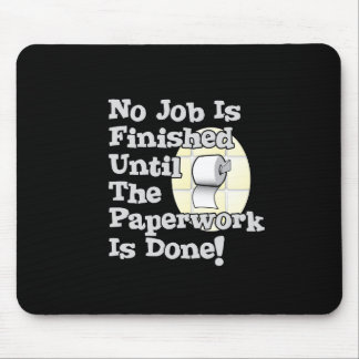 Paperwork Mouse Pad