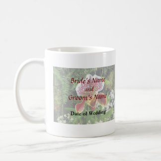 Paph Fiordland Sunset Orchid Wedding Products Coffee Mugs