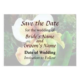 Paph Hellas Westonbirt Orchid Save the Date Card