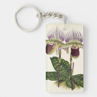 Paphiopedilum lawrenceanum keychain