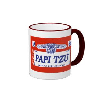 Papi Tzu Ringer Coffee Mug