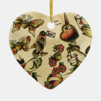 papigland ceramic ornament