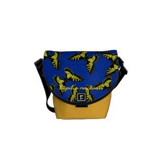 Papilio machaon messenger bag