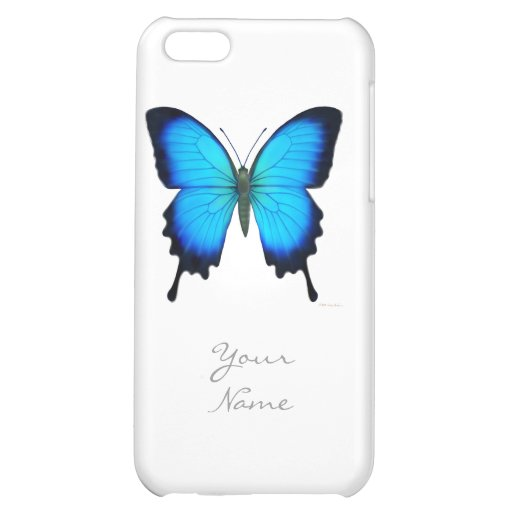 Papilio Ulysses Butterfly iPhone Case iPhone 5C Cover