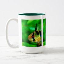Papiliochromis ramirezi Two-Tone coffee mug