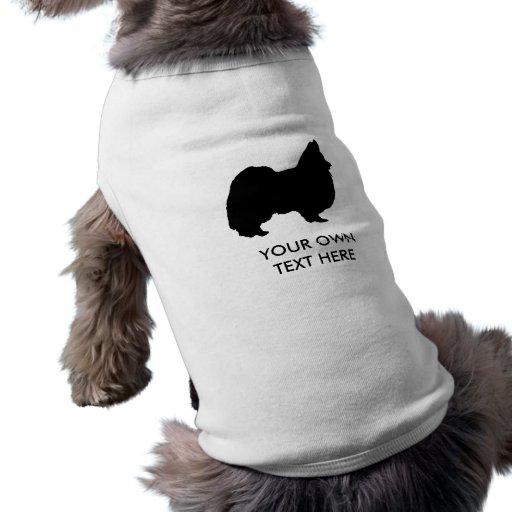 Papillion Camiseta De Perro