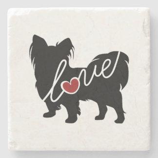 Papillion Love Stone Coaster