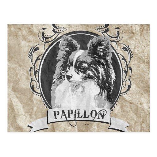 PAPILLON (2) TARJETA POSTAL