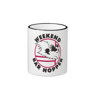Papillon Agility Weekend Bar Hopper Coffee Mug
