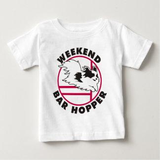 Papillon Agility Weekend Bar Hopper T Shirt