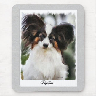 Papillon Art Gifts Mouse Pad