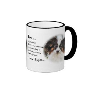 Papillon Art Gifts Coffee Mugs