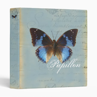 Papillon bleu binder