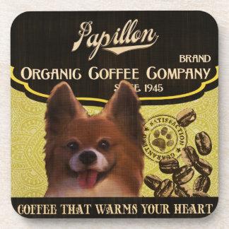 Papillon Brand – Organic Coffee Company Drink Coaster