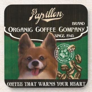Papillon Brand – Organic Coffee Company Coaster