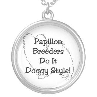 Papillon Breeders Custom Necklace