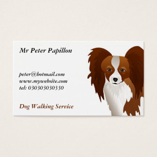 Papillon Business Card