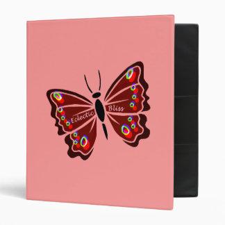 Papillon (Butterfly) 3 Ring Binder