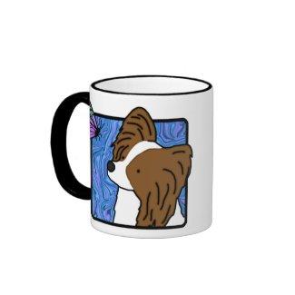 Papillon Butterfly Dog Mug mug