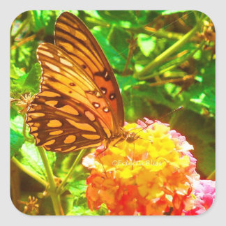 Papillon (Butterfly) Square Sticker