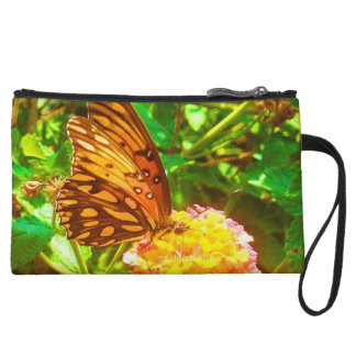 Papillon (Butterfly) Wristlet