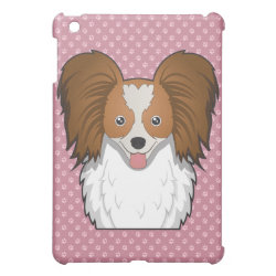 Case Savvy iPad Mini Glossy Finish Case with Papillon Phone Cases design
