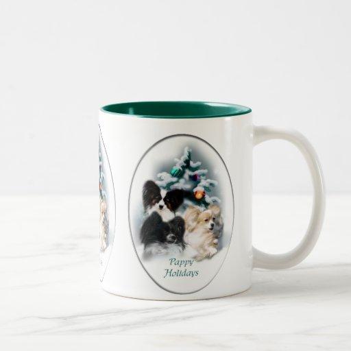 Papillon Christmas Gifts Coffee Mug Zazzle
