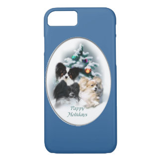 Papillon Christmas Gifts iPhone 8/7 Case