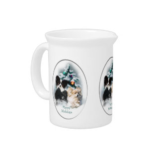Papillon Christmas Gifts Pitcher
